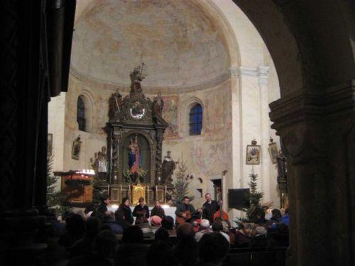 Interiér-koncert Zebedeus 2007