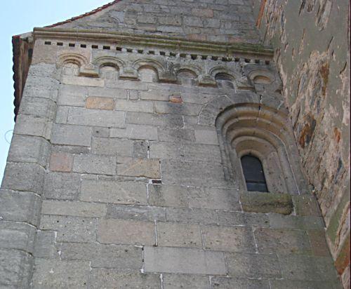 okno západní strana lodi