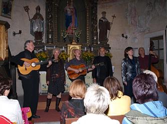 Spirituál kvintet 9/2010 v Potvorově