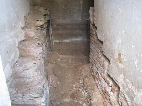 Obnova schodiště na kůr