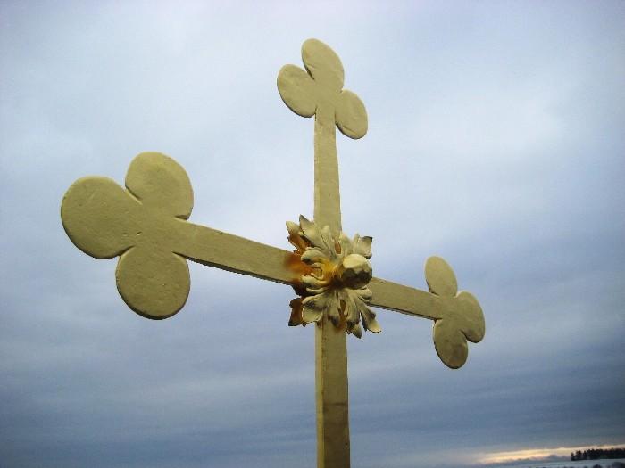 Detail kříže